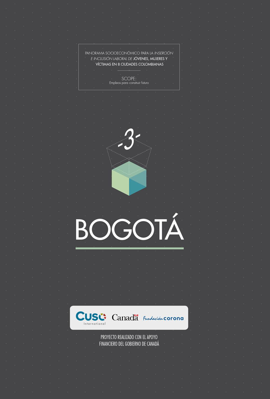 Panorama socioeconómico Bogotá