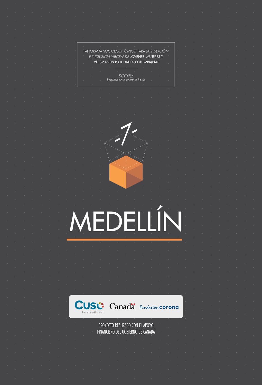 Panorama socioeconómico Medellín