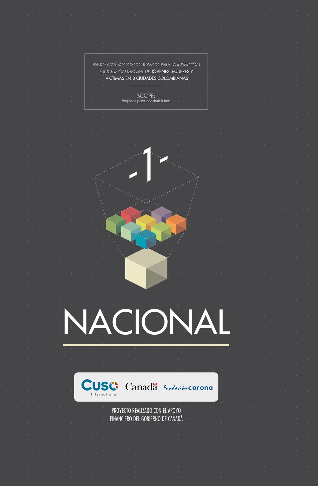 Panorama socioeconómico nacional