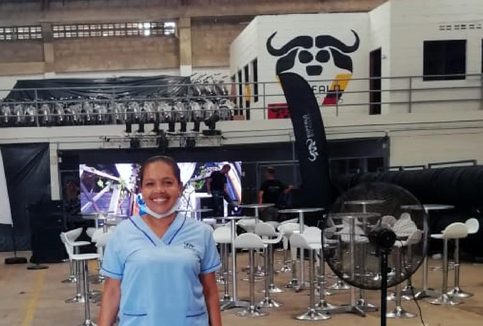 Héroes trabajadores/as: María del Carmen Payares, resiliencia que no tiene edad