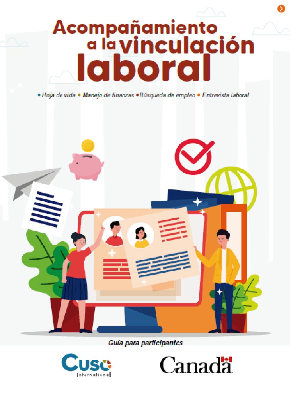 Acompañamiento a la vinculación laboral: guía para participantes