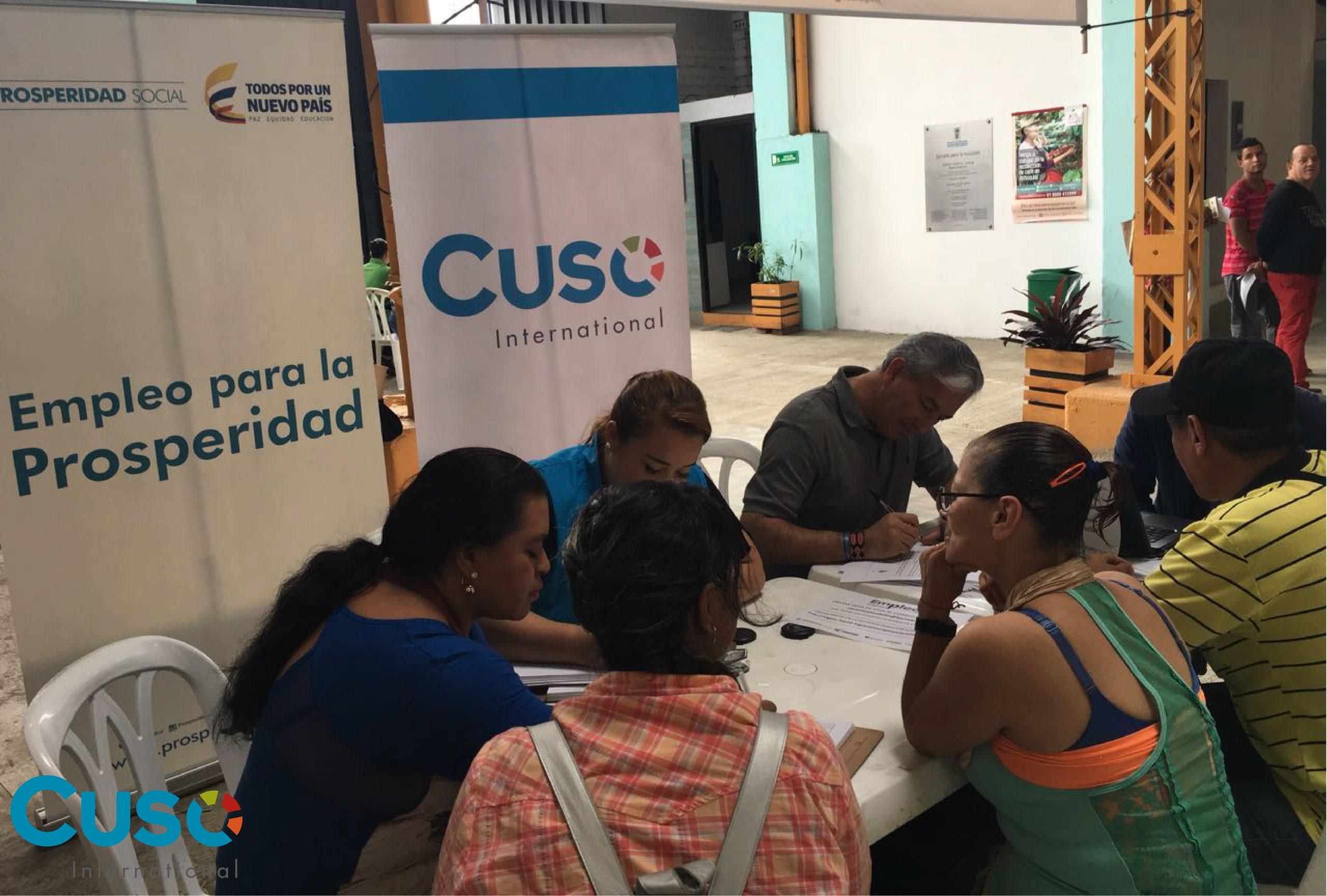 Feria de Oportunidades y Servicios Sociales en Medellín