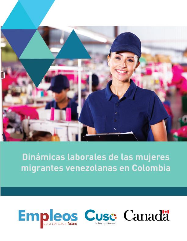NUEVO: Dinámicas laborales de las mujeres migrantes venezolanas en Colombia