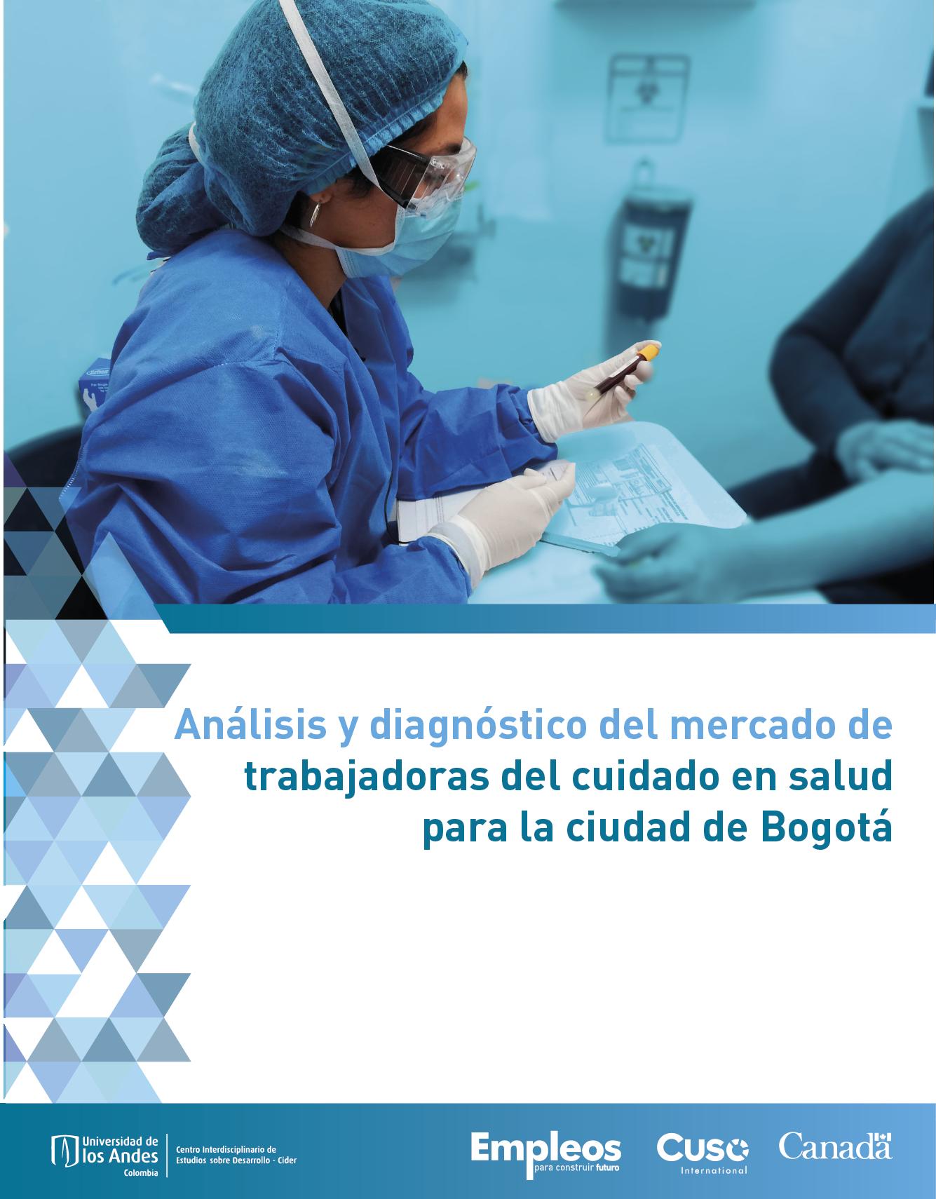 Análisis y diagnóstico del mercado de trabajadoras del cuidado en salud para la ciudad de Bogotá