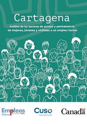 Cartagena, análisis de las barreras de acceso y permanencia de mujeres, jóvenes y víctimas a un empleo formal.