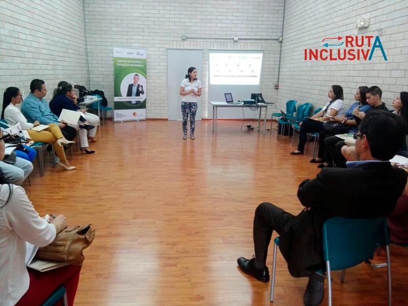 Ruta Inclusiva con empresas afiliadas a Comfenalco Antioquia