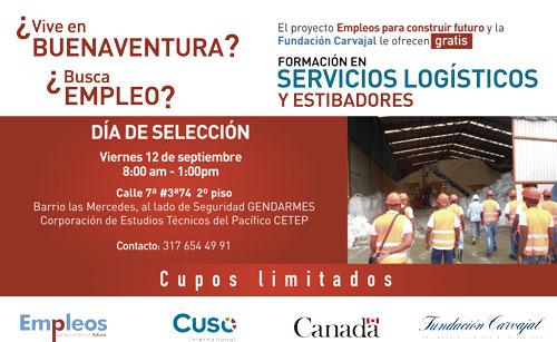 Formación y oportunidad de empleo en Buenaventura