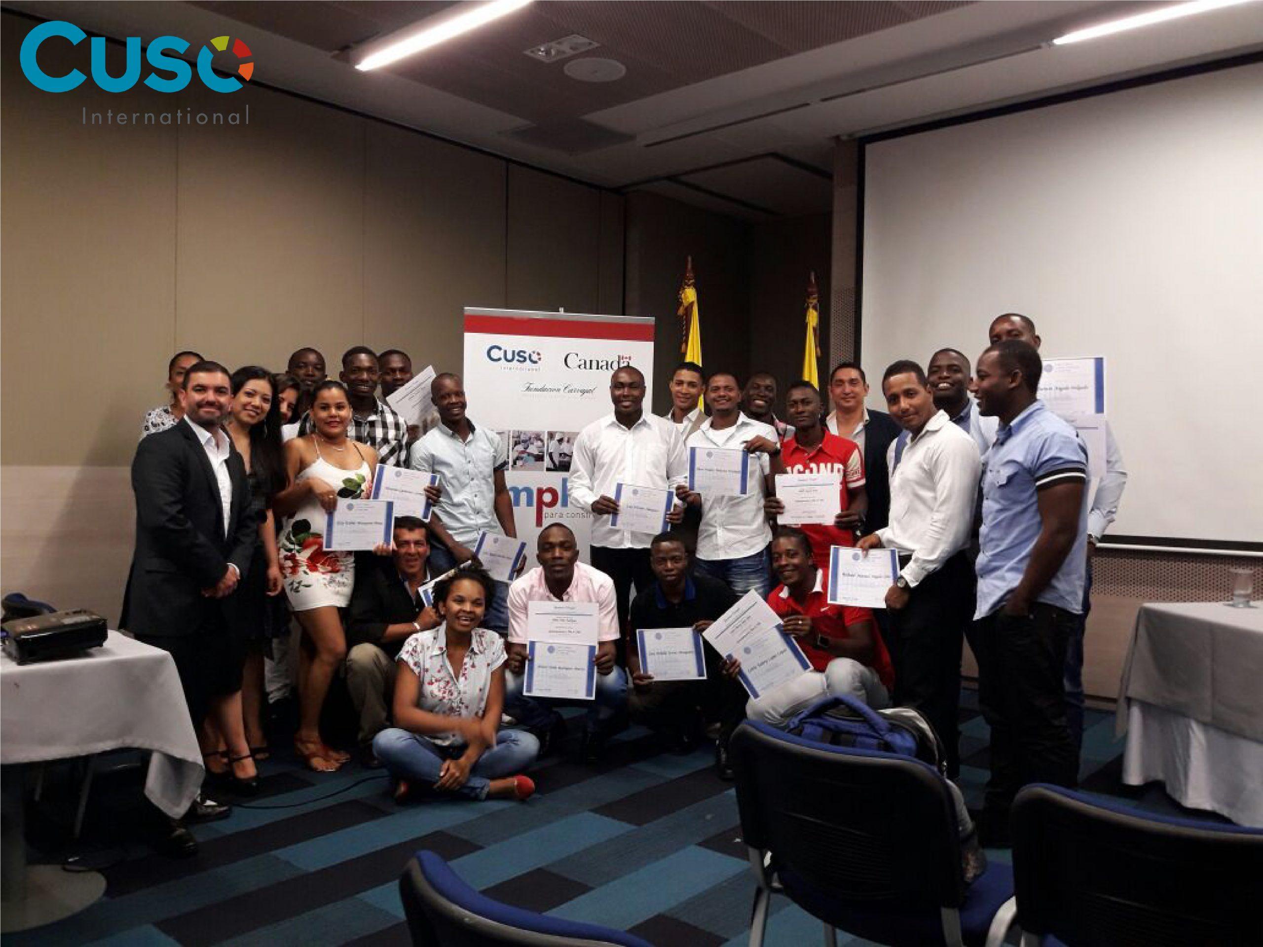 47 jóvenes graduados(as) en Inglés técnico portuario en Buenaventura