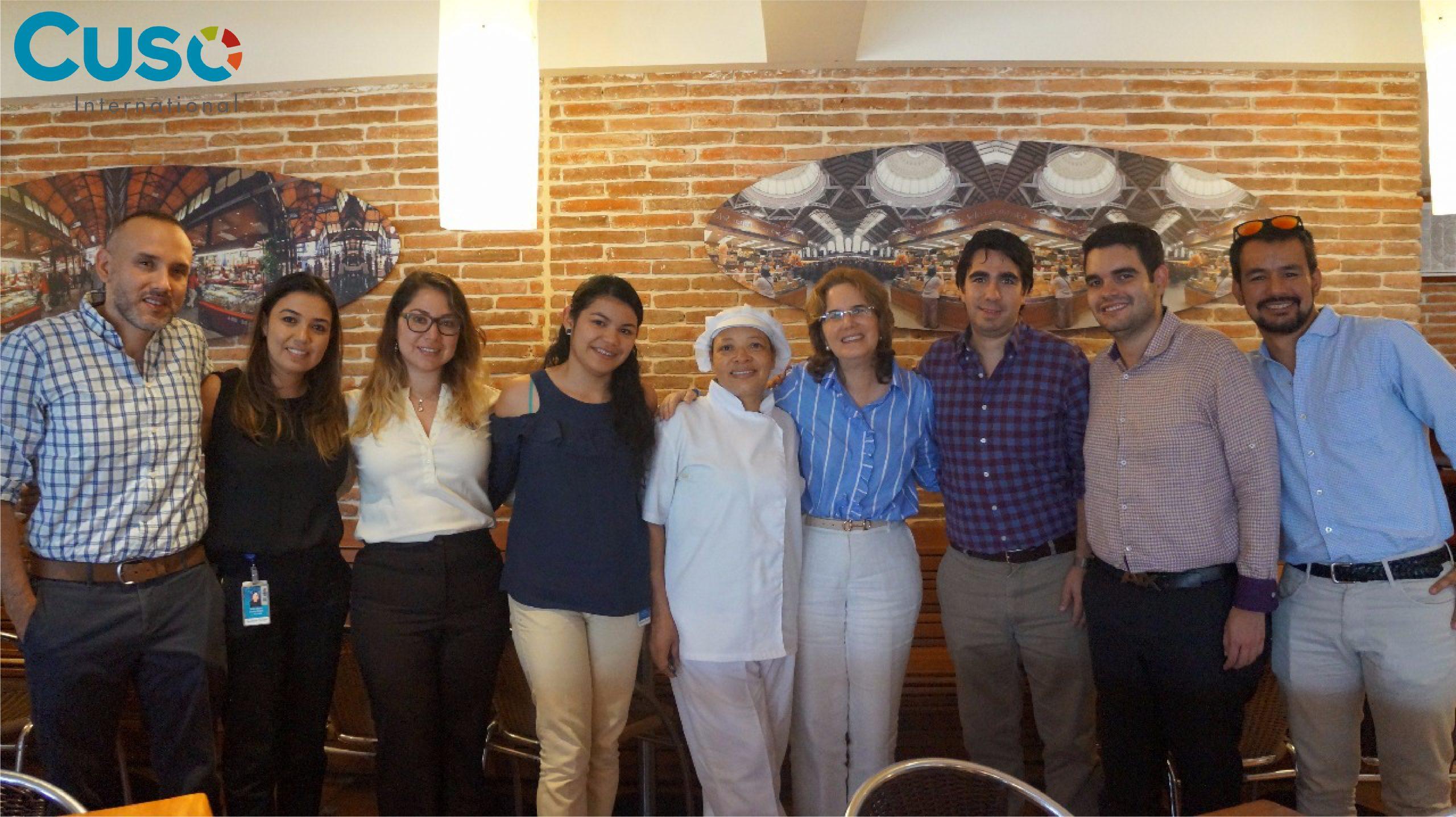De visita en Cali la Embajada de Canadá en Colombia
