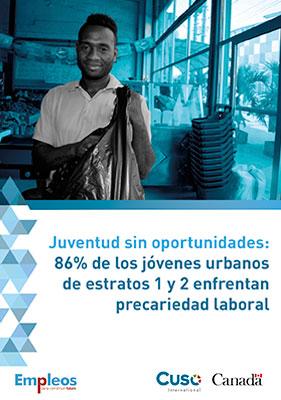 Juventud sin oportunidades: 86% de los jóvenes urbanos de estratos 1 y 2 enfrentan precariedad laboral.