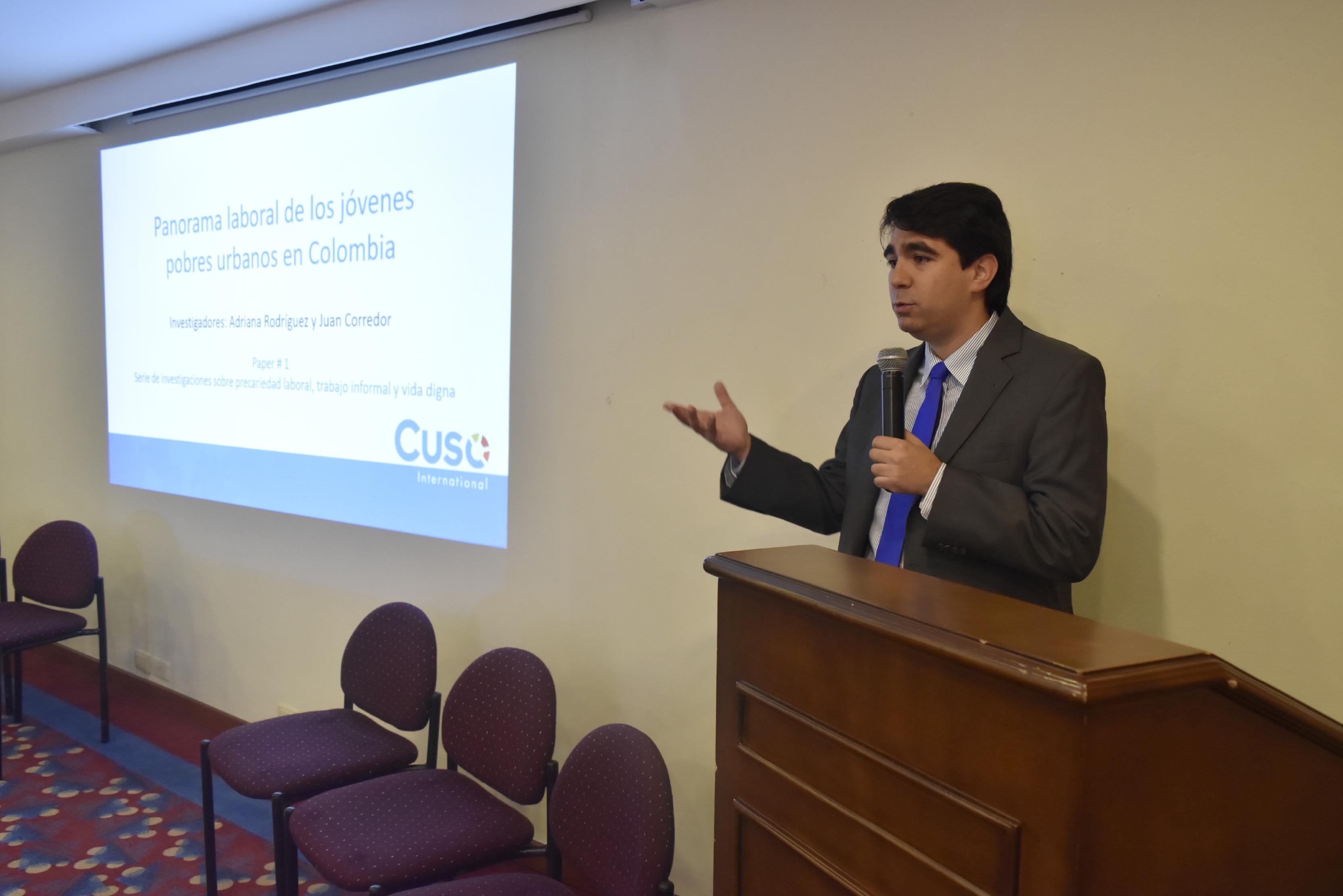 Lanzamiento de nuestro primer estudio sobre el mercado laboral colombiano