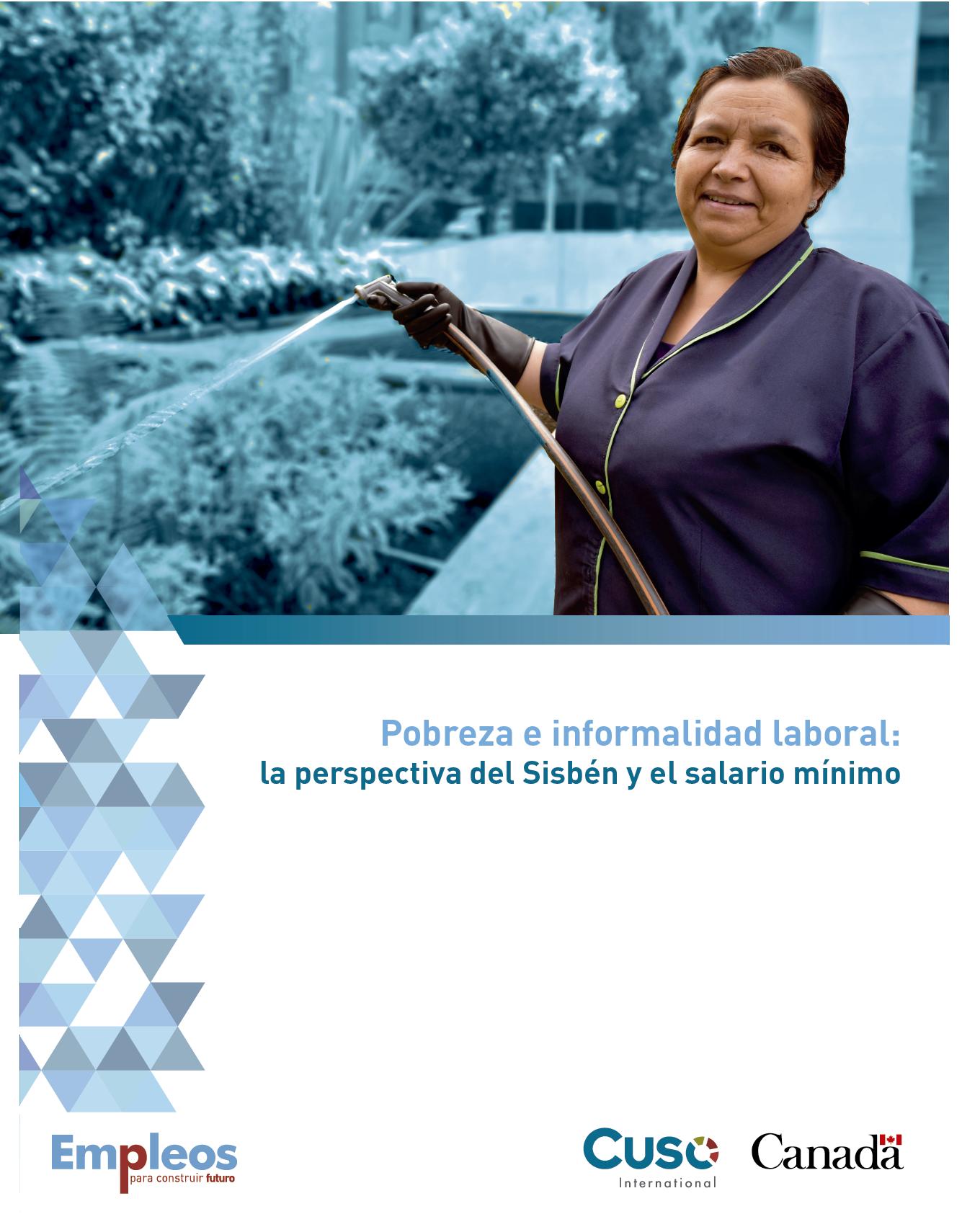 Pobreza e informalidad laboral: la perspectiva del Sisbén y el salario mínimo