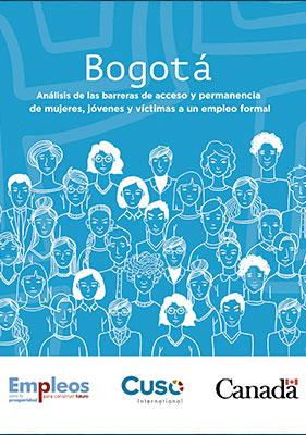 Bogotá, análisis de las barreras de acceso y permanencia de mujeres, jóvenes y víctimas a un empleo formal.